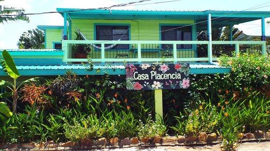 Casa Placencia Belize: Casa Placencia property front