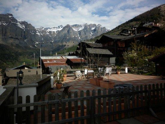 La Demeure des Elfes : Terrazza hotel...