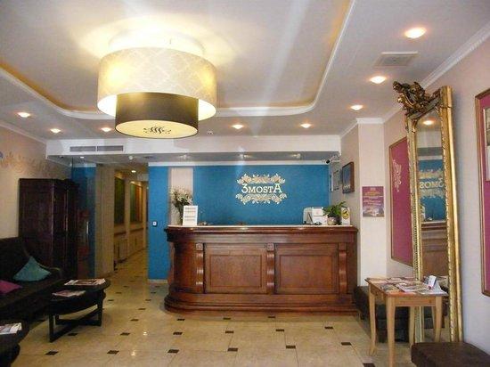 3MostA Boutique Hotel: reception...