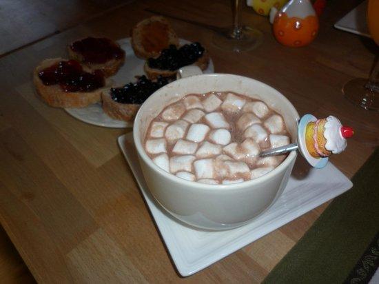 La Demeure des Elfes: Super cioccolata mattutina...