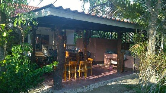 Real Relax Resort & Beauty Massage: Breakfast terrace