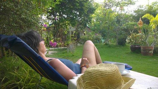 Real Relax Resort & Beauty Massage: Garden