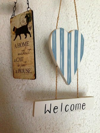 Winniehill Bed & Breakfast: decorazione