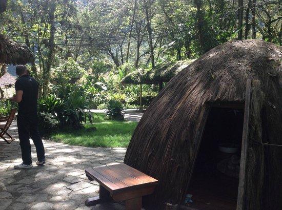 Inkaterra Machu Picchu Pueblo Hotel: The peculiar but wonderful sauna