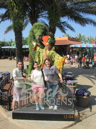 Busch Gardens : Entrada de un hermoso parque