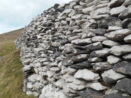 Carranross House: Dry walls, Dingle Penninsula, day trip from Kilarney