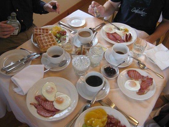 Coill An Rois: Wonderful breakfast