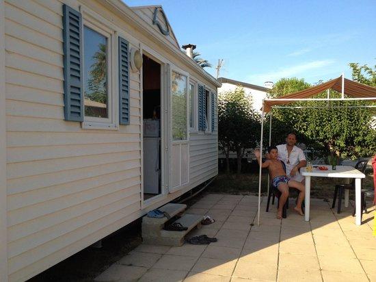 Camping Le Pearl Village Club : notre emplacement au pearl