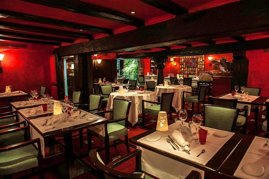 Salle du restaurant la table du gourmet bild von b - Restaurant riquewihr table du gourmet ...
