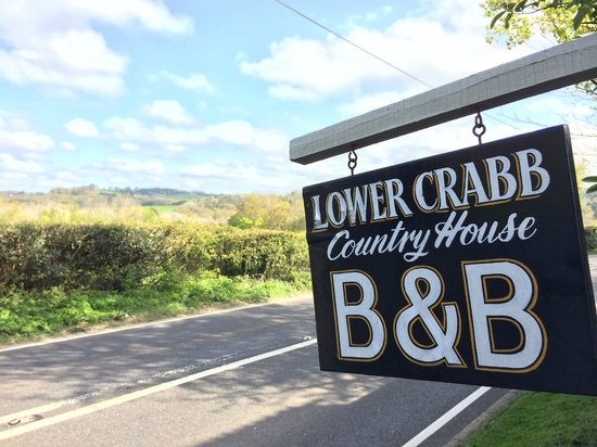 Lower Crabb Country House B&B : Entrance