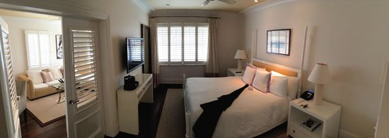 The Betsy - South Beach : Poolside Suite: Bedroom