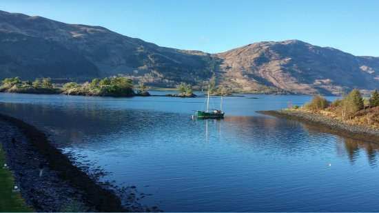 Isles of Glencoe Hotel & Leisure Centre: view from the room