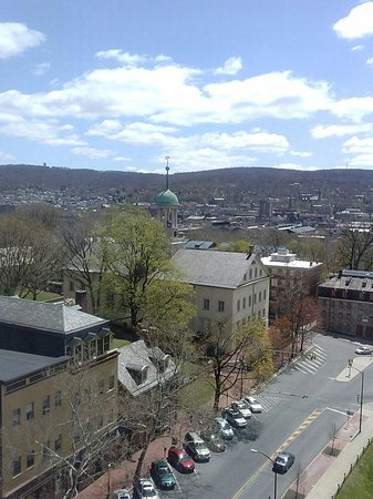 Historic Hotel Bethlehem: View from our room