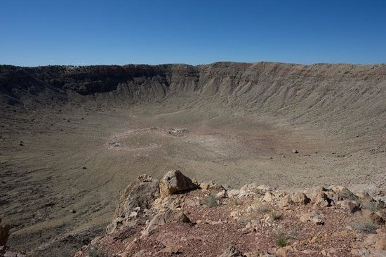 Meteor Crater: Larger the it apears !