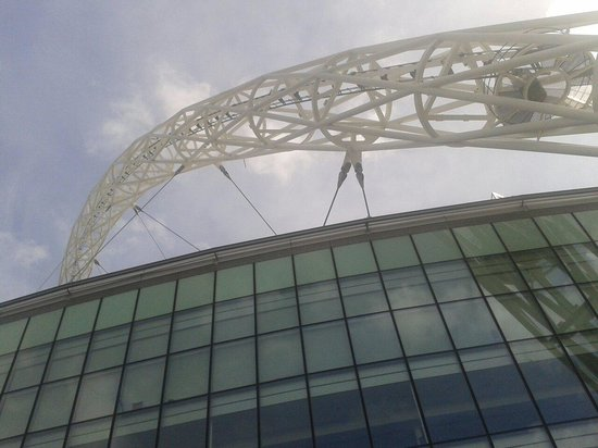 Wembley Stadium Tours: From the bottom of the arch
