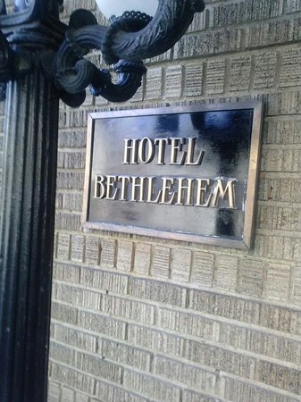 Historic Hotel Bethlehem: Historical Hotel Bethlehem