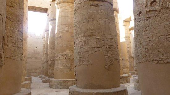 Karnak-Tempel: колоны