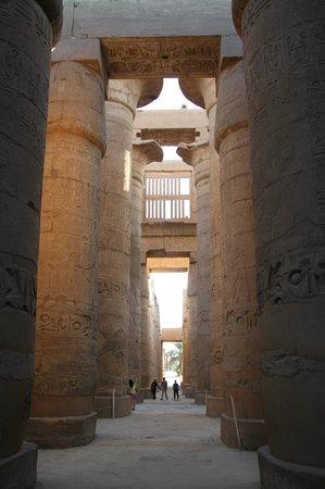 Karnak-Tempel: коридор
