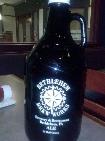 Bethlehem Brew Works : Growler