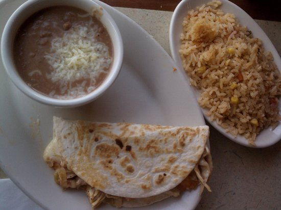 La Parrilla Mexican Restaurant: Kids Meal