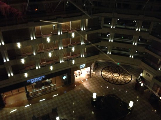 Orlando World Center Marriott: Lobby area