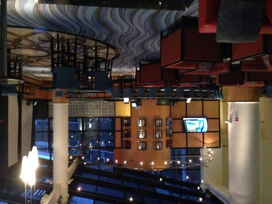 Orlando World Center Marriott: Lobby bar