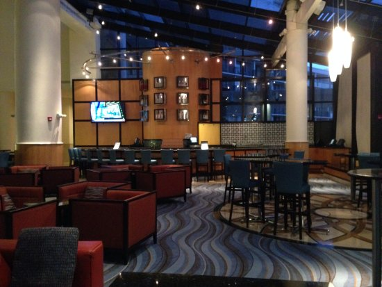 Orlando World Center Marriott Lobby Bar