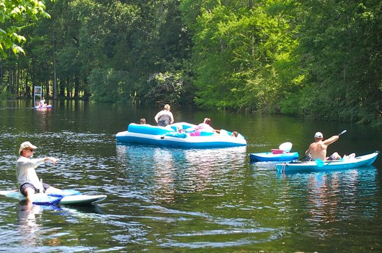 Ginnie Springs : Boating & Rafting