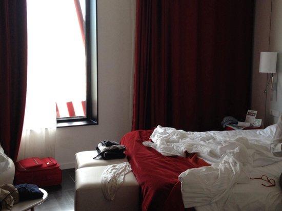 Hotel Porta Fira : I letti