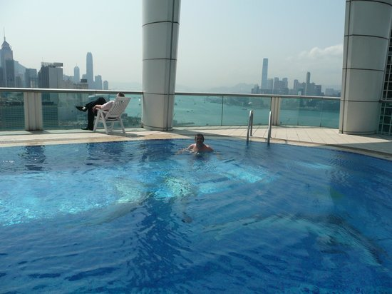 Roof Top Pool Picture Of Metropark Hotel Causeway Bay