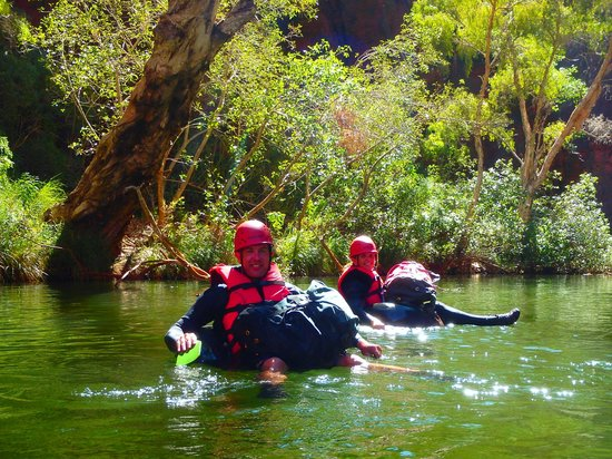 West Oz Active Adventure - Day Tours: Paddling in Red Gorge