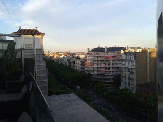 B-Hotel: Vistas a los cuatro vientos desde la 8ª planta