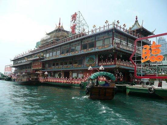Metropark Hotel Causeway Bay Hong Kong: Jumbo floating Resteraunt