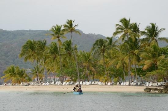 Grand Bahia Principe El Portillo: plage public du cayo levantdo