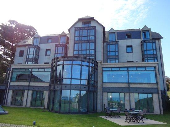 L'Agapa Hotel SPA Nuxe : Hôtel, côté mer