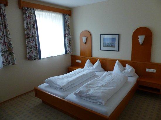 Scharl am Maibaum: das Zimmer, guter Schlafkomfort