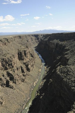 Rio Grande Gorge Bridge: view