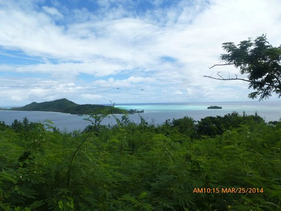 Maohi Nui : View from the top of Bora Bora