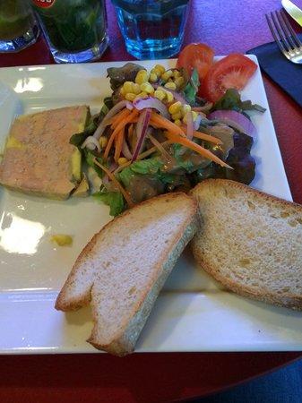 Les Terrasses de Saint Pierre : Entrée foie gras