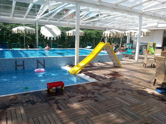 Hotel Nettuno : piscinal coperto