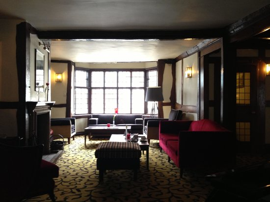 Mercure Stratford-Upon-Avon Shakespeare Hotel : Lounge area