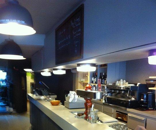 le café du marché : Le bar