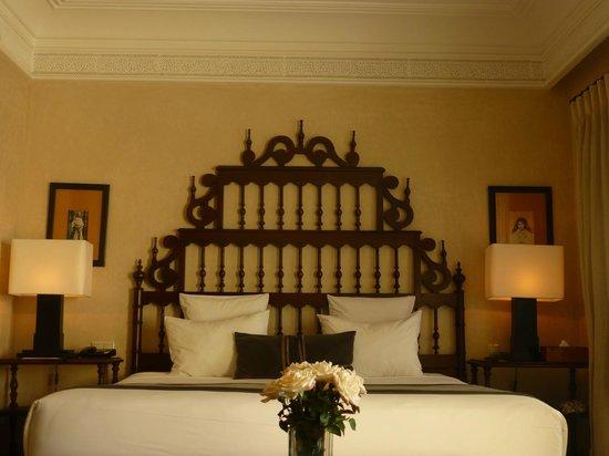 Riad Villa Blanche: our bedroom