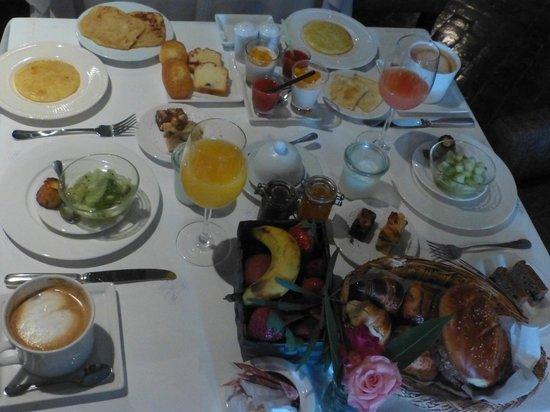 Riad Villa Blanche: breakfast