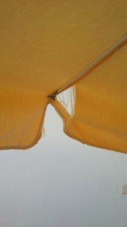 Bahia Blanca : Defective umbrella