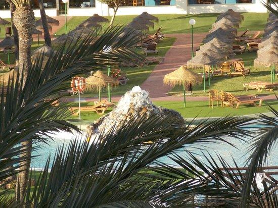 Evenia Zoraida Garden: fuente de la piscina