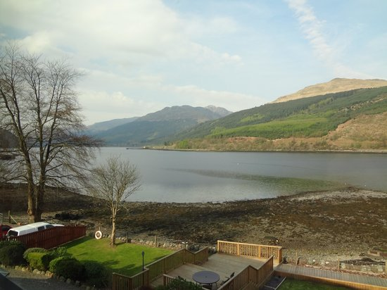 Lochside Guest House: The view from our bedroom