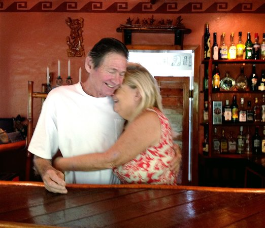 Rio Bec Dreams: owners at the BAR, evenings