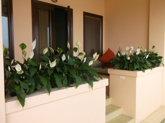 Anantara Hoi An Resort: our small balcony