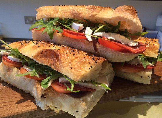 The Yellow Canary Cafe: Artisan bread sandwiches